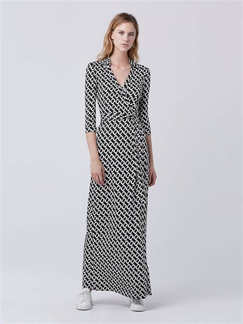 Maxi Wrap Dress abigail maxi silk jersey wrap dress by dvf
