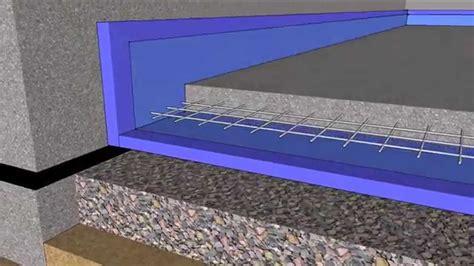 floating slab basement floor basement floating slab in 4d