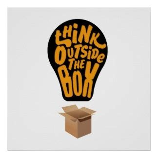 Think Out The Box how did we derive the phrase think out of the box quora