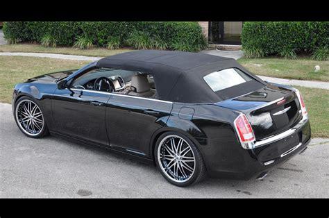 custom 2011 chrysler 300 2011 chrysler 300 c custom convertible on 22 inch lexani