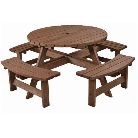 wooden bench set 8 seater wooden picnic bench table set homegenies