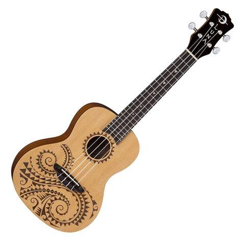 luna tattoo ukulele concert ukulele spruce gig bag at