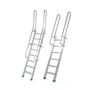 altezza corrimano scale scale in alluminio