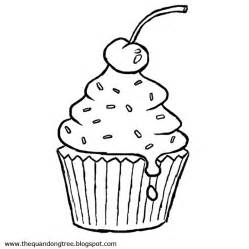 cupcake coloring page coloring pages pinterest trees