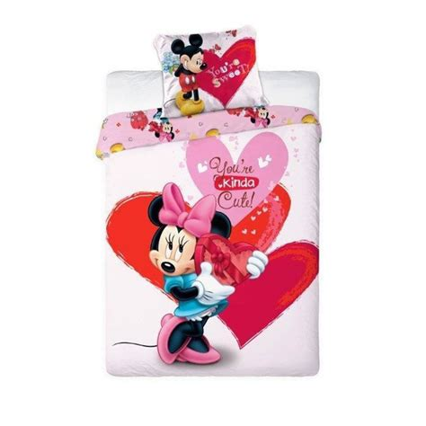 minnie mouse kids bedroom disney mickey or minnie mouse single duvet cover sets kids