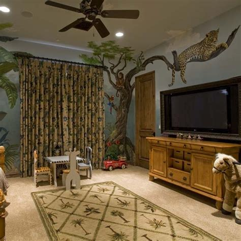 jungle bedroom decorations jungle room i like the idea of having a plush panther