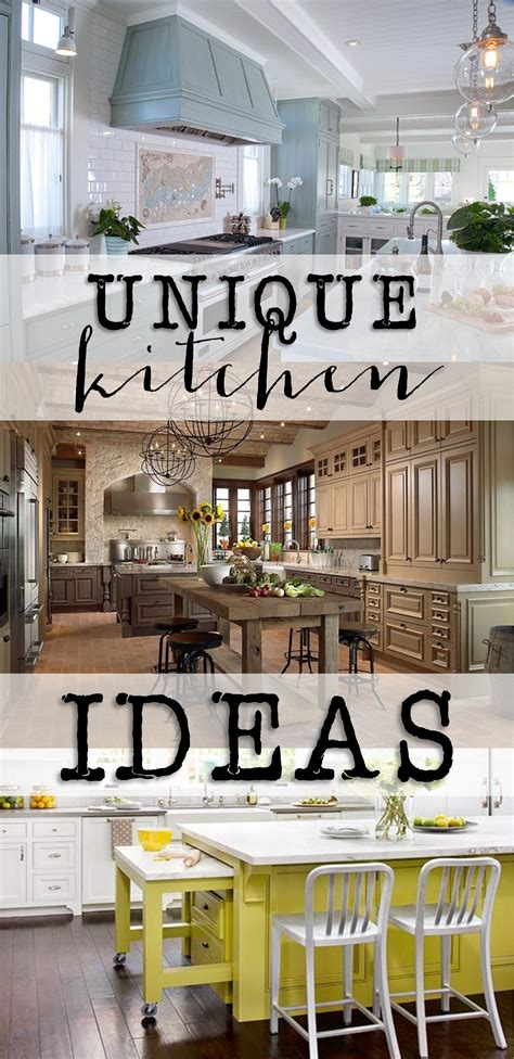 Friday Favorites Unique Kitchen Ideas House Of Hargrove Unique Kitchen Design