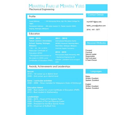 normal font size for resume normal resume font size resume