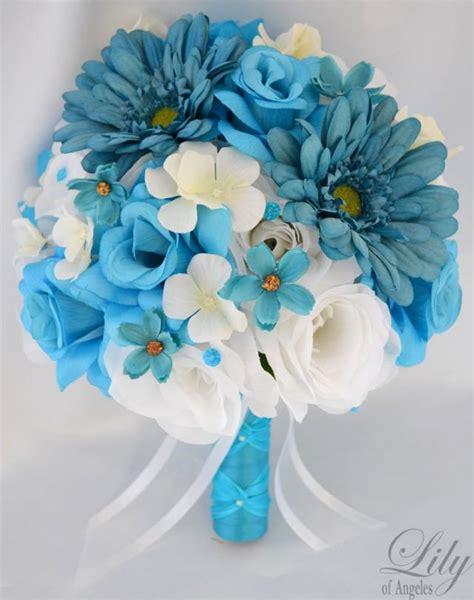 Bridal Centerpieces Flowers by 17 Package Wedding Bridal Bouquet Silk Flower