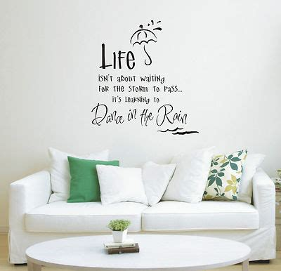 Wallpaper Sticker 011 quote wall canvas wall with quotes quote