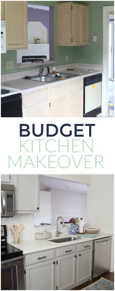 Budget Friendly Kitchen Cabinets Gray And White Kitchen Makeover Home Base