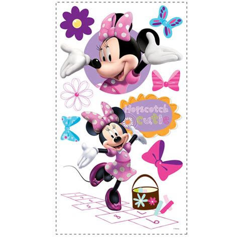 minnie mouse wall stickers minnie mouse wall decals baby n toddler