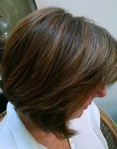 bangs and blending high and low lights to cover gray highlight lowlights assymetrical bob 1 hair pinterest
