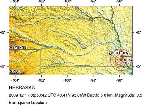 nebraska news earthquakes in nebraska news