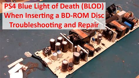 ps4 blue light of death fix ps4 blue light of death blod when inserting a bd rom