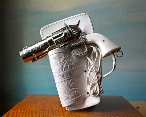 Hair Dryer As A Heat Gun 357 magnum hair dryer vintage novelty pistol hairdryer d