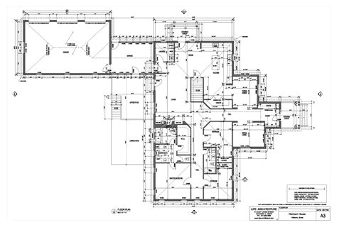 architectural plan house plans and design
