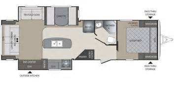 30 Ft Travel Trailer Floor Plans 2016 Keystone Bullet Travel Trailer