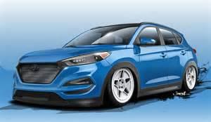 Hyundai Tuc Bisimoto Hyundai Tucson Previewed For Sema 2015