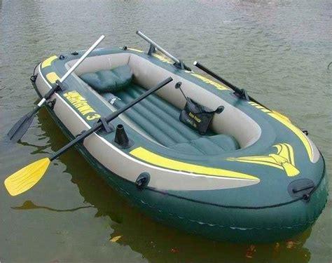 rubber boat rubber boat intex seahawk ii raft boat set paddles pump