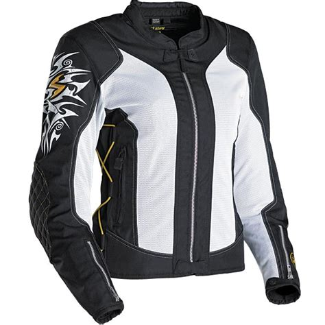 black and gold motorcycle jacket womens motorcycle jacket niptuck in black white gold