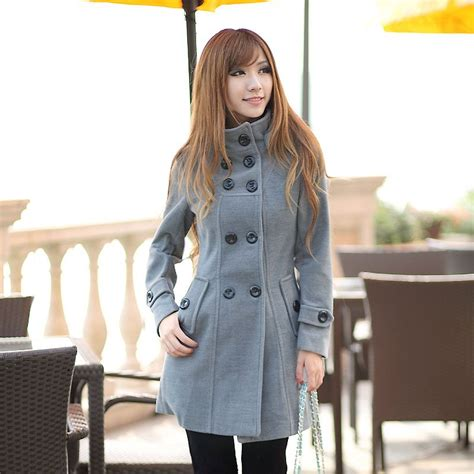 hot winter fashion for women new stylish long coats for girls in winter 2013 long