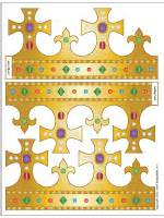 Paper Crown Template For Adults by King And S Crown Printable Templates Coloring