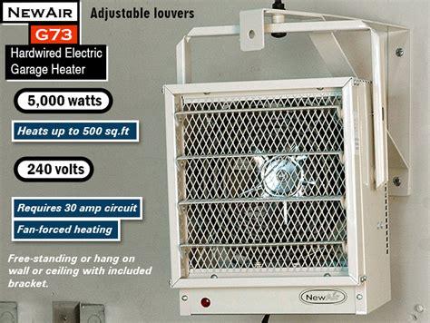 best garage heater practical garage heater buying guide