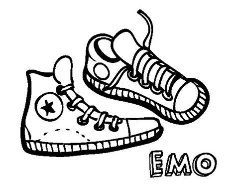 sneaker coloring book sneakers coloring page coloringcrew