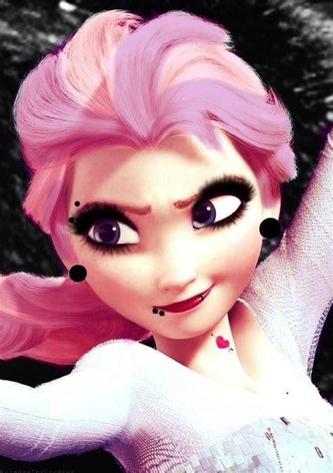 imagenes de elsa emo elsa i love her pop punk pinterest disney pop