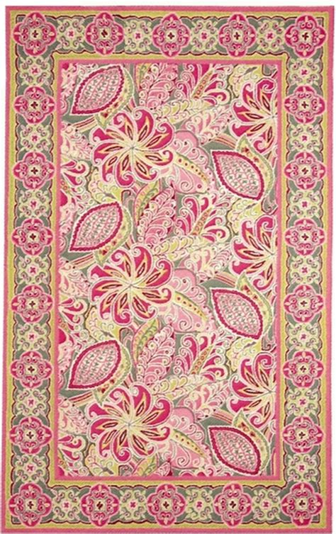 Vera Bradley Area Rugs Marcella Vera Bradley Signature Vby047a Pinwheel Pink Closeout Area Rug