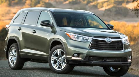 2015 Toyota Highlander Specs 2015 Toyota Highlander Hybrid Review And Specs