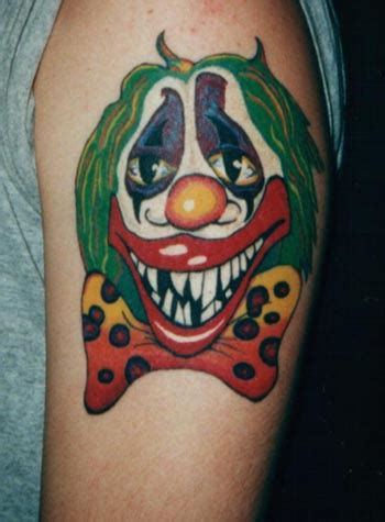 mexican clown tattoo designs counter clown tattoos