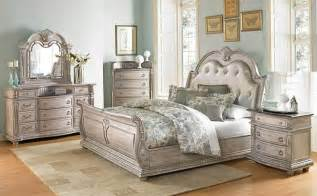 white antique bedroom furniture von furniture palace ii bedroom set with sleigh bed in