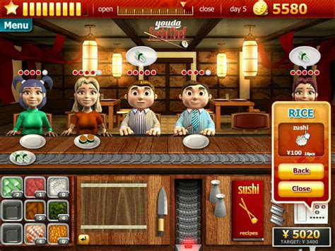 youda sushi chef full version apk download youda sushi chef download and play on pc youdagames com