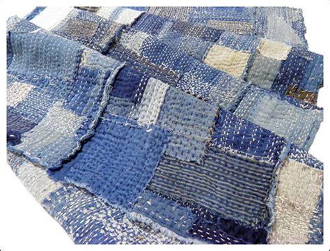 antique japanese boro futon cover