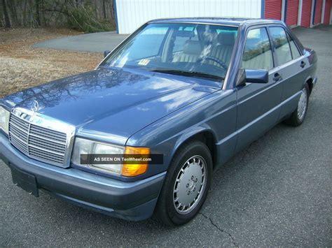 mercedes 190e 2 6 1993 mercedes 190e 2 6 sedan 4 door 2 6l