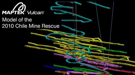 san jose mine map vulcan 3d mine model of the san jose mine in chile
