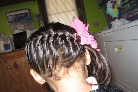 como hacer peinados de trenzas para ninas trenza raiz de lado peinados faciles para ninas