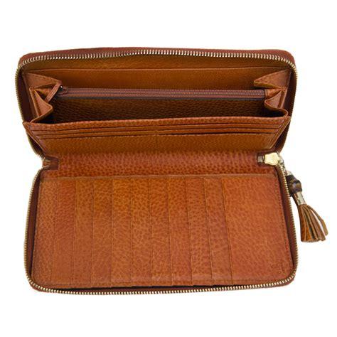 Gucci Wallet Zip Wp 60017 gucci orange bamboo tassel zip around wallet