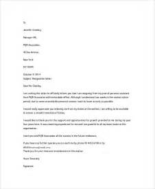 Resignation Letter Sle Voluntary Sle Letter Of Resignation 7 Exles In Word Pdf