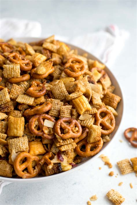 recipe for traditional chex mix healthy chex mix recipes