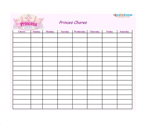 weekly chore chart 3 up printable weekly chore charts
