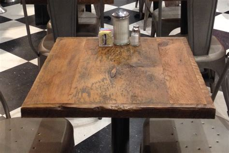 wood restaurant tables dining table reclaimed wood table toppub tables bar table