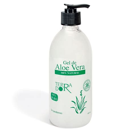 gel 100 naturel gel aloe vera 100 500 ml