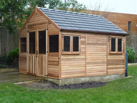 Wooden Roof Shingles For Sheds by Greenhouses At Bramshall Staffordshire