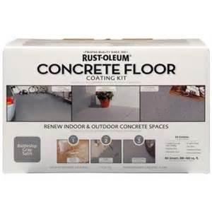 home depot concrete paint rust oleum concrete floor coating kit 265054 the home depot