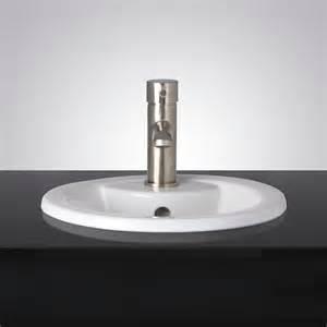 alkes porcelain drop in sink drop in sinks