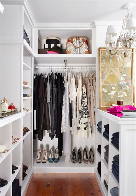 a closet very small walk in closet ideas