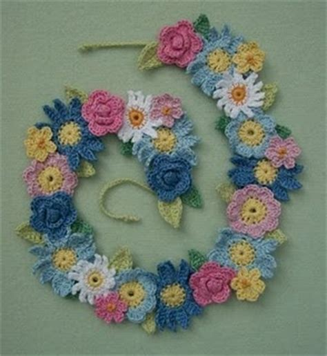 pattern for fabric garland 85 best images about crochet garlands wreaths on